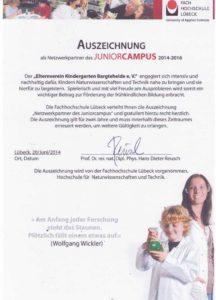 Juniorcampus_Urkunde